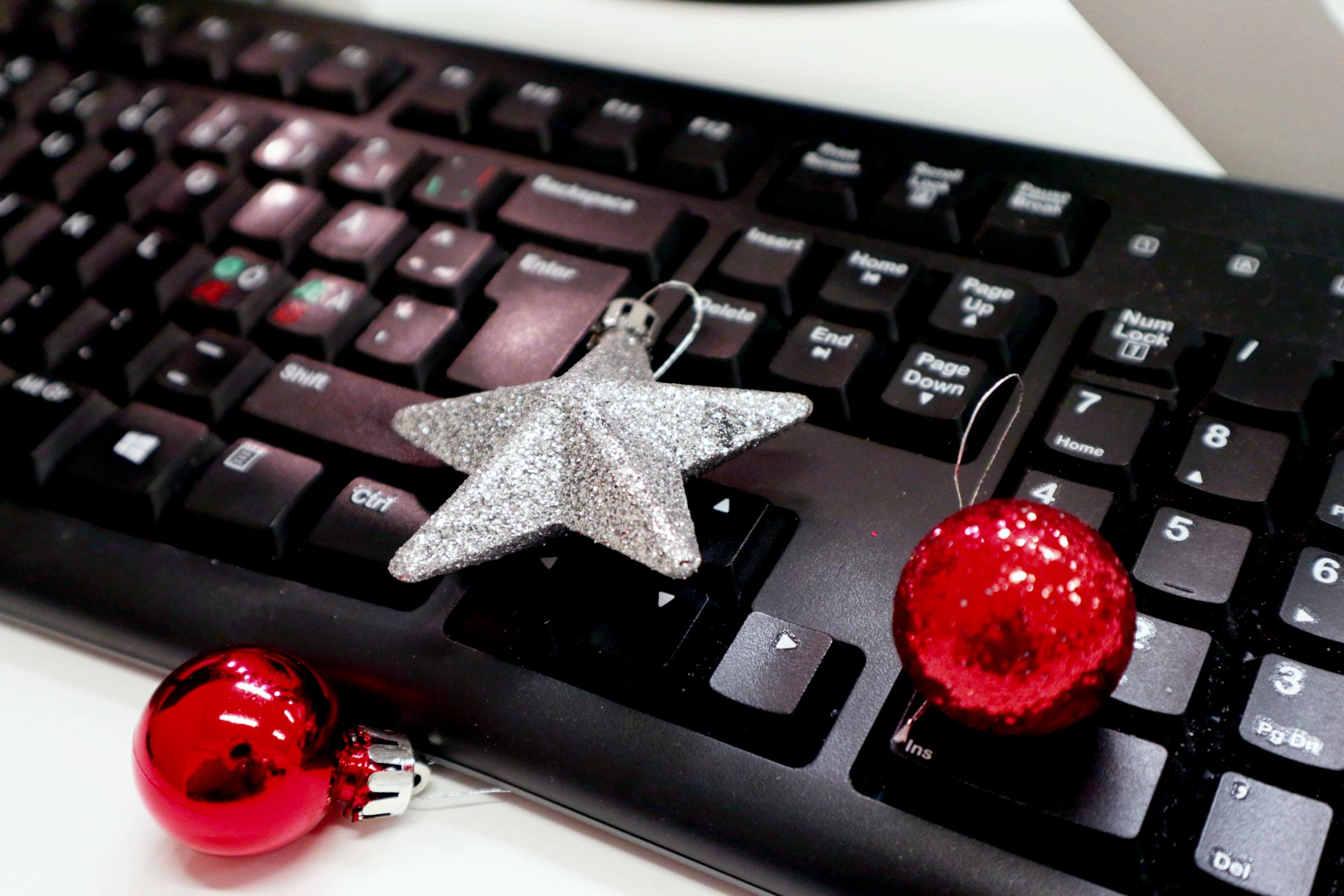 Joulunäppäimistö
